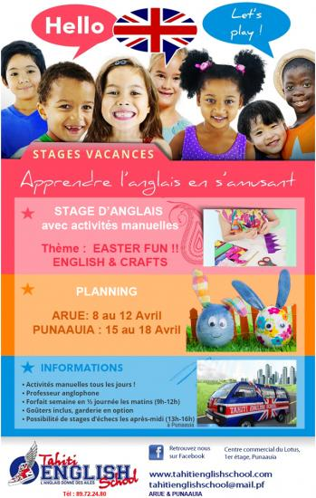 Affiche stage easter 2019