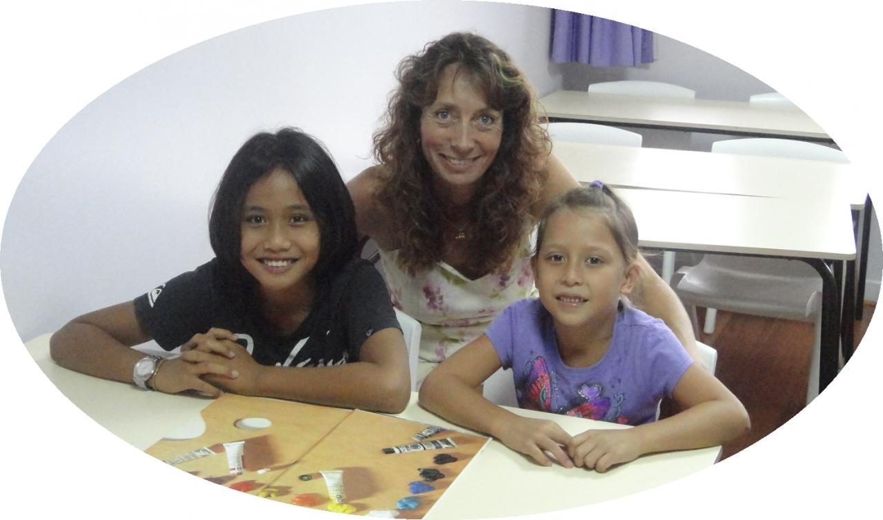 Anita & kids